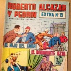 Tebeos: ROBERTO ALCAZAR Y PEDRIN - EPOCA 2º - EXTRA Nº 12/ EDIVAL S. A. - 19-III-1977. Lote 37382840