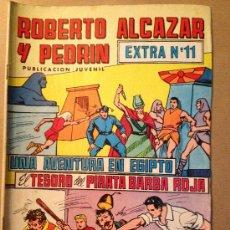 Tebeos: ROBERTO ALCAZAR Y PEDRIN - EPOCA 2º - EXTRA Nº 11/ EDIVAL S. A. - 19-II-1977. Lote 37382939