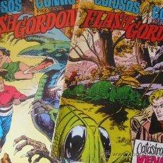 Tebeos: LOTE FLASH GORDON Nº 1 Y 27 COLOSOS DEL COMIC EDIT.VALENCIANA. Lote 37409294