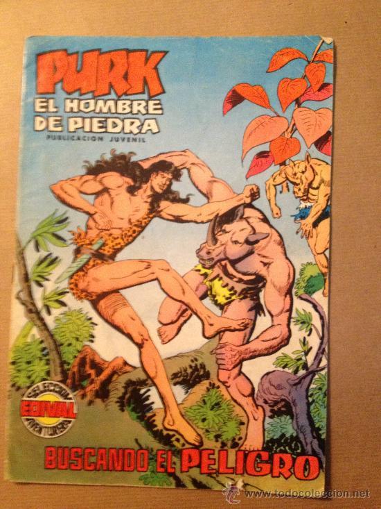 PURK EL HOMBRE DE PIEDRA - Nº 21 / EDIVAL S. A. - 13-VII-1974 (Tebeos y Comics - Valenciana - Purk, el Hombre de Piedra)