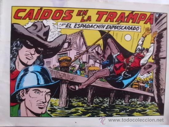 EL ESPADACHIN ENMASCARADO Nº 54 SEGUNDA EDICION (Tebeos y Comics - Valenciana - Espadachín Enmascarado)
