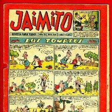 Tebeos: JAIMITO , Nº 401 , EDITORIAL VALENCIANA , ORIGINAL. Lote 37491916