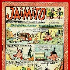 Tebeos: JAIMITO , Nº 556 , EDITORIAL VALENCIANA , ORIGINAL. Lote 37492081