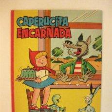 Tebeos: CAPERUCITA ENCARNADA DE PUMBY EN ESTADO PLANCHA.EDITORIAL VALENCIANA 1962.. Lote 99107406