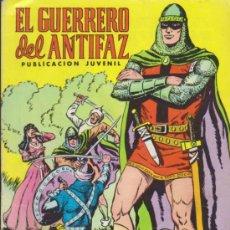 Tebeos: EL GUERRERO DEL ANTIFAZ. VALENCIANA 1972. COLECCIÓN COMPLETA 343 EJEMPLARES.. Lote 37751165