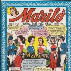 Tebeos: MARILÓ. VALENCIANA 1950. LOTE DE 24 EJEMPLARES DEL 67 AL 90. ¡IMPECABLES!. Lote 37757373