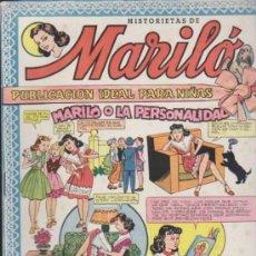 Tebeos: MARILÓ. VALENCIANA 1950. LOTE DE EJEMPLARES ENTRE EL 1 AL 66. SIN ABRIR. ¡IMPECABLES!. Lote 37757525