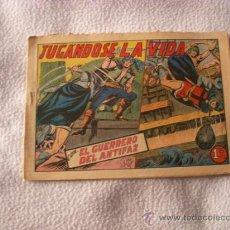 Tebeos: EL GUERRERO DEL ANTIFAZ Nº 197, EDITORIAL VALENCIANA. Lote 37857316