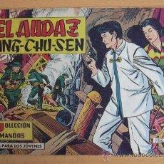Tebeos: COLECCIÓN COMANDOS Nº 61 - EDITORIAL VALENCIANA 1954. Lote 37817223
