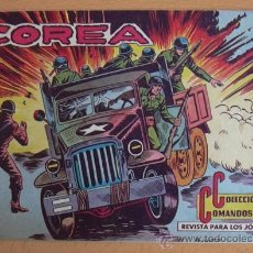 Tebeos: COLECCIÓN COMANDOS Nº 67 - EDITORIAL VALENCIANA 1954. Lote 37817337