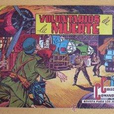 Tebeos: COLECCIÓN COMANDOS Nº 70 - EDITORIAL VALENCIANA 1954. Lote 37817395