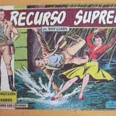 Tebeos: COLECCIÓN COMANDOS ROY CLARK Nº 75 - EDITORIAL VALENCIANA 1954. Lote 37817454