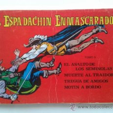 Tebeos: EL ESPADACHIN ENMASCARADO - TOMO 9 - CONTIENE 4 NUMEROS - EDITORA VALENCIANA - 1981. Lote 37867739