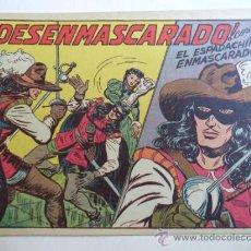 Tebeos: EL ESPACHIN ENMASCARADO.Nº 128.ORIGINAL. Lote 37954460