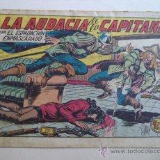 Tebeos: EL ESPADACHIN ENMASCARADO.Nº 158.ORIGINAL. Lote 37954525