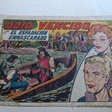 Tebeos: EL ESPADACHIN ENMASCARADO.Nº 180.ORIGINAL. Lote 37954698