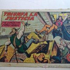 Tebeos: EL ESPADACHIN ENMASCARADO Nº 184.ORIGINAL. Lote 37954707