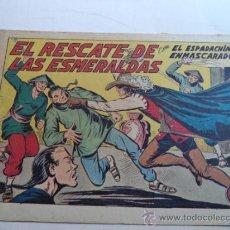 Tebeos: EL ESPADACHIN ENMASCARADO Nº195.ORIGINAL. Lote 37954724