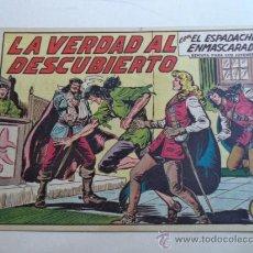 Tebeos: EL ESPADACHIN ENMASCARADO.Nº224. Lote 37954748
