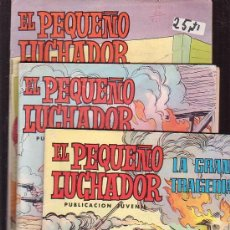 Tebeos: EL PEQUEÑO LUCHADOR - LOTE 3 EJEMPLARES ( Nº 3, 16, 64 ) -EDITORIAL VALENCIANA. Lote 38074398