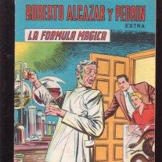 BDs: ROBERTO ALCAZAR Y PEDRIN, EXTRA Nº 36 LA FORMULA MAGICA -EDITORIAL VALENCIANA. Lote 38074674