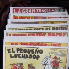Tebeos: LOTE 58 NUMS. PEQUEÑO LUCHADOR. FACSIMIL DEL ORIGINAL. EDITORIAL VALENCIANA. 21 X 30 CM NUEVOS. Lote 38120183