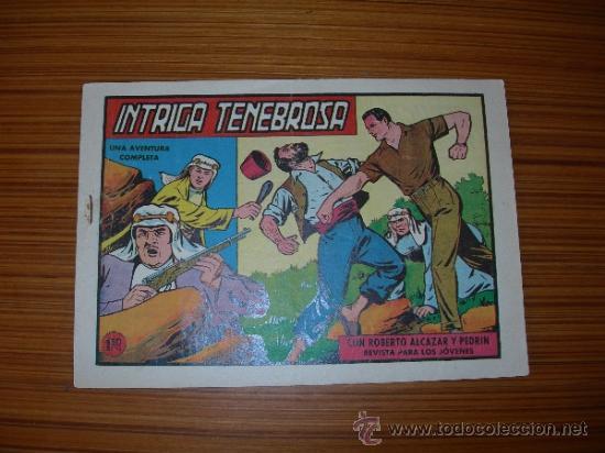 ROBERTO ALCZAR Y PEDRIN Nº 444 DE VALENCIANA (Tebeos y Comics - Valenciana - Roberto Alcázar y Pedrín)