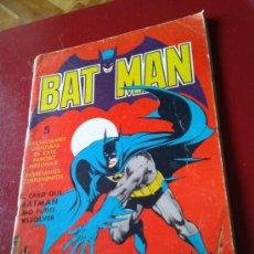 Tebeos: BATMAN CÓMIC TEBEO BAT MAN (34X25 CM) VALENCIANA 1976 64 P. DIORAMA EN CONTRACUBIERTA SUPERHÉROE. Lote 38280071