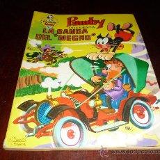 Tebeos: LIBROS ILUSTRADOS PUMBY Nº 40. VALENCIANA 1971. 40 PTS. LA BANDA DEL NEGRO.. Lote 38320805