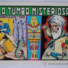 """Tebeos: ROBERTO ALCAZAR Y PEDRIN Nº 115 """"LA TUMBA MISTERIOSA"""" EDICIÓN VALENCIANA 1983. Lote 38354338"""