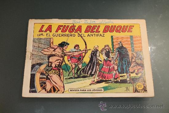 EL GUERRERO DEL ANTIFAZ 365 EDITORIAL VALENCIANA (Tebeos y Comics - Valenciana - Guerrero del Antifaz)