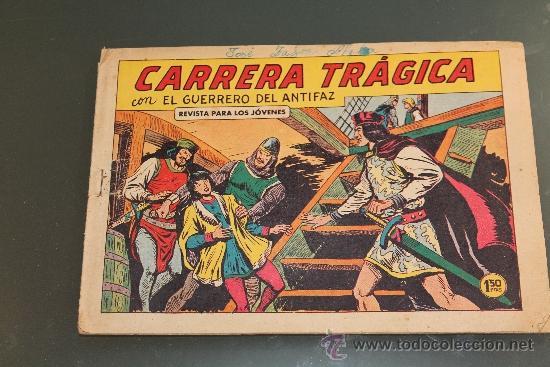 EL GUERRERO DEL ANTIFAZ 366 EDITORIAL VALENCIANA (Tebeos y Comics - Valenciana - Guerrero del Antifaz)