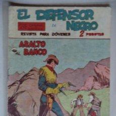 Tebeos: EL DEFENSOR NEGRO Nº 17.ORIGINAL. Lote 38409256