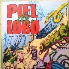 Tebeos: PIEL DE LOBO ,NUMERO 16 : FAUNA SUBTERRANEA. ( COLOSOS DEL COMIC). Lote 38645511