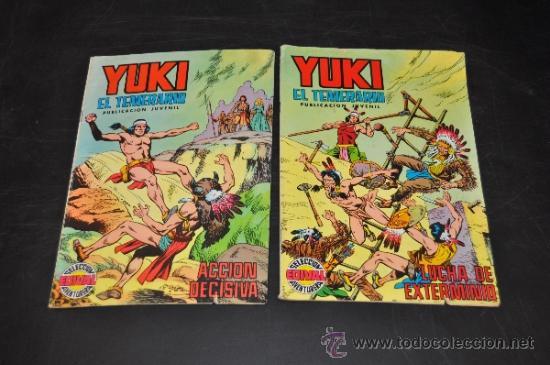 YUKI EL TEMERARIO Nº 11 Y 12 - SELECCIÓN AVENTURERA EDIVAL (Tebeos y Comics - Valenciana - Otros)