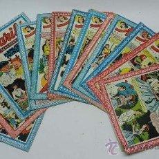 Tebeos: LOTE DE 13 TEBEOS MARILO, PUBLICACION IDEAL PARA NIÑAS, ESTAN LOS NUMEROS 24 - 44 - 49 - 54 - 59 - . Lote 38883234