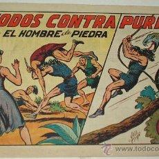 Tebeos: EL HOMBRE DE PIEDRA Nº 21 - VALENCIANA ORIGINAL- LEER. Lote 38899383