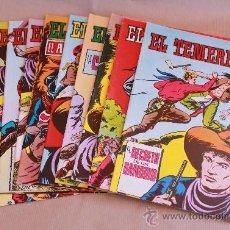 Tebeos: EL TEMERARIO 1 2 3 4 5 6 7 8 9 10 COMPLETA - ED VALENCIANA AÑO 1981. Lote 38999009