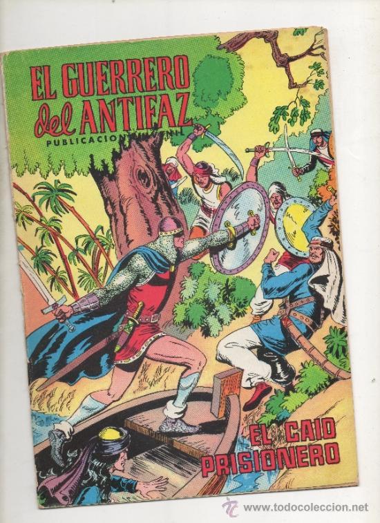 EL GUERRERO DEL ANTIFAZ, EL CAID PRISIONERO Nº 217.VALENCIANA, 1976 (Tebeos y Comics - Valenciana - Guerrero del Antifaz)