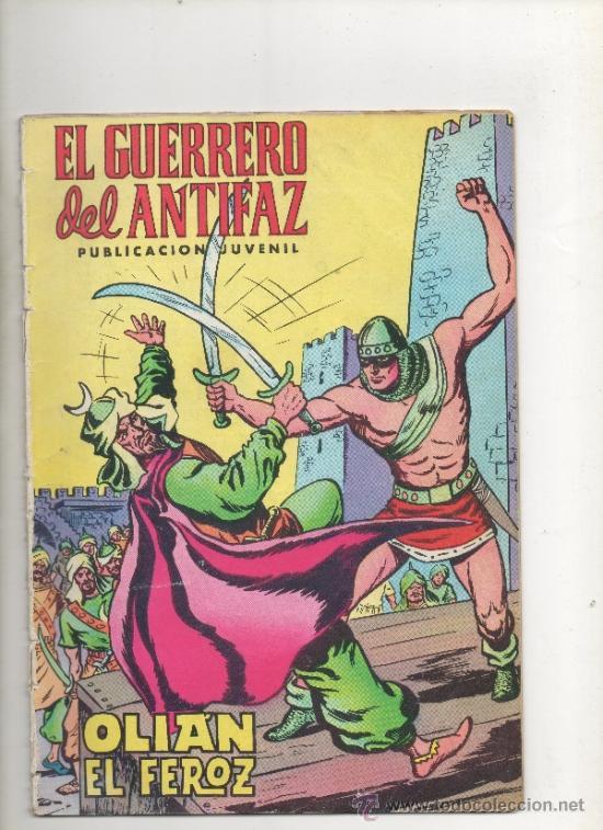 EL GUERRERO DEL ANTIFAZ,OLIAN EL FEROZ Nº 5.VALENCIANA (Tebeos y Comics - Valenciana - Guerrero del Antifaz)