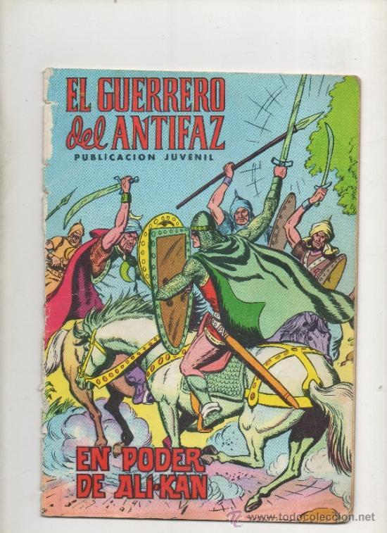 EL GUERRERO DEL ANTIFAZ,EL PODER DE ALI-KAN Nº2.VALENCIANA (Tebeos y Comics - Valenciana - Guerrero del Antifaz)