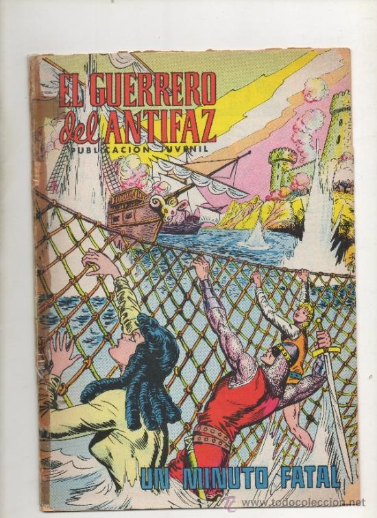 EL GUERRERO DEL ANTIFAZ,UN MINUTO FATAL Nº208.VALENCIANA (Tebeos y Comics - Valenciana - Guerrero del Antifaz)