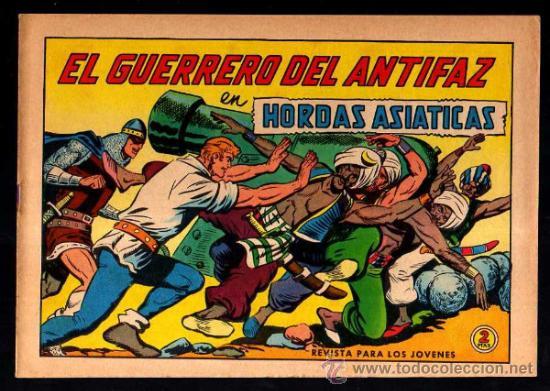 EL GUERRERO DEL ANTIFAZ. HORDAS ASIATICAS. Nº 620. ORIGINAL (Tebeos y Comics - Valenciana - Guerrero del Antifaz)