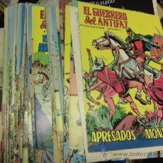 Tebeos: LOTE DE 100 PORTADAS Y CONTRAPORTADAS EL GUERRERO DEL ANTIFAZ PUBLICACION JUVENIL. Lote 39137560