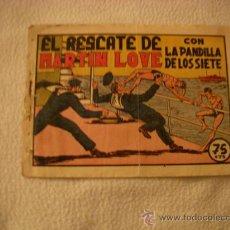 Tebeos: LA PANDILLA DE LOS SIETE Nº 62, EDITORIAL VALENCIANA. Lote 39355292