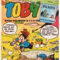 Tebeos: TOBY REVISTA PARA JOVENES DE 6 A 66 AÑOS. NROS. 13 Y 16 . VALENCIANA. Lote 40580333