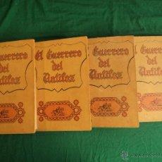 Tebeos: EL GUERRERO DEL ANTIFAZ. ED. VALENCIANA. 4 VOL, 1972. Lote 187570481