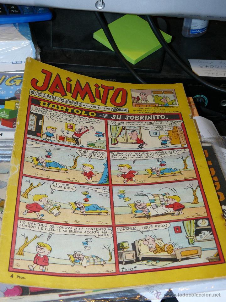 TEBEOS-COMICS GOYO - JAIMITO - Nº 890 - ED. VALENCIANA *BB99 (Tebeos y Comics - Valenciana - Jaimito)