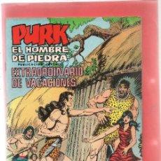 Tebeos: PURK EXTRAORDINARIO VACACIONES 1981. Lote 244966355