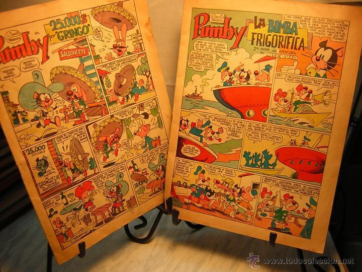 Tebeos: lote de 2 antiguo comic j.sanchis pumby - 25.000$ por gringo - la bomba frigorifica - Foto 8 - 39504973